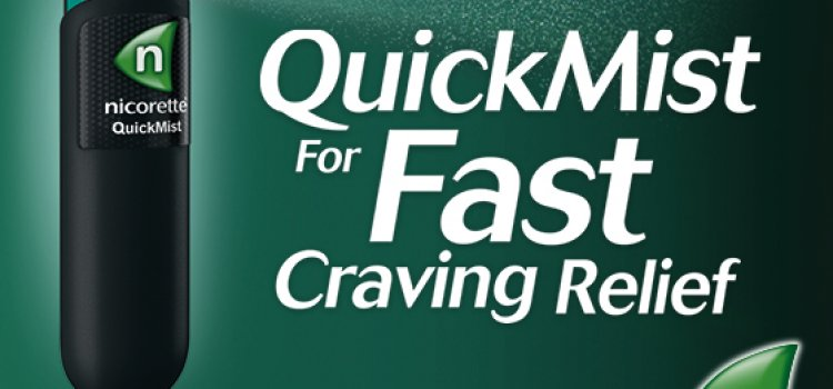 What is Nicorette QuickMist?