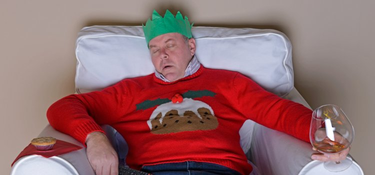 Alcohol and Snoring at Christmas Time
