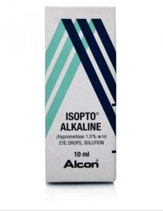 Isopto Alkaline Eye Drops Solution 1% 10ml