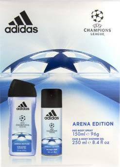 Adidas Champions League Arena Edition Gift Set