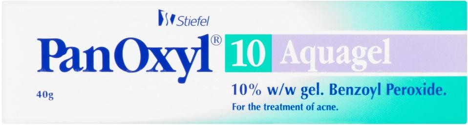 Panoxyl Aquagel 10% Gel 40g