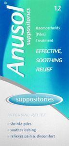 Anusol Suppositories Pack Of 12