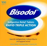 Bisodol Tablets Pack of 100