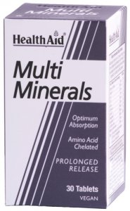 HealthAid Multimineral Prolonged Release Tablets Pack of 30