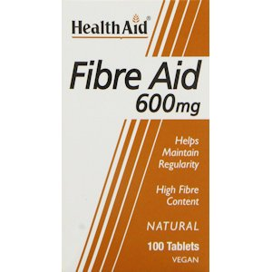 HealthAid Fibre Aid 600mg Tablets Pack of 100