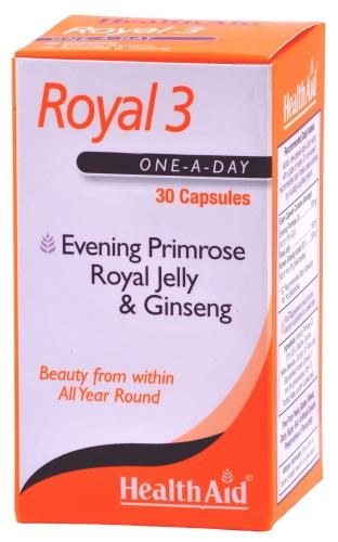 HealthAid Royal 3 Capsules Pack of 30