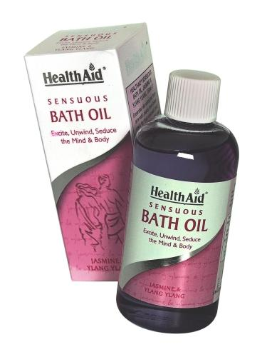 HealthAid Sensuous Bath Oil 150ml