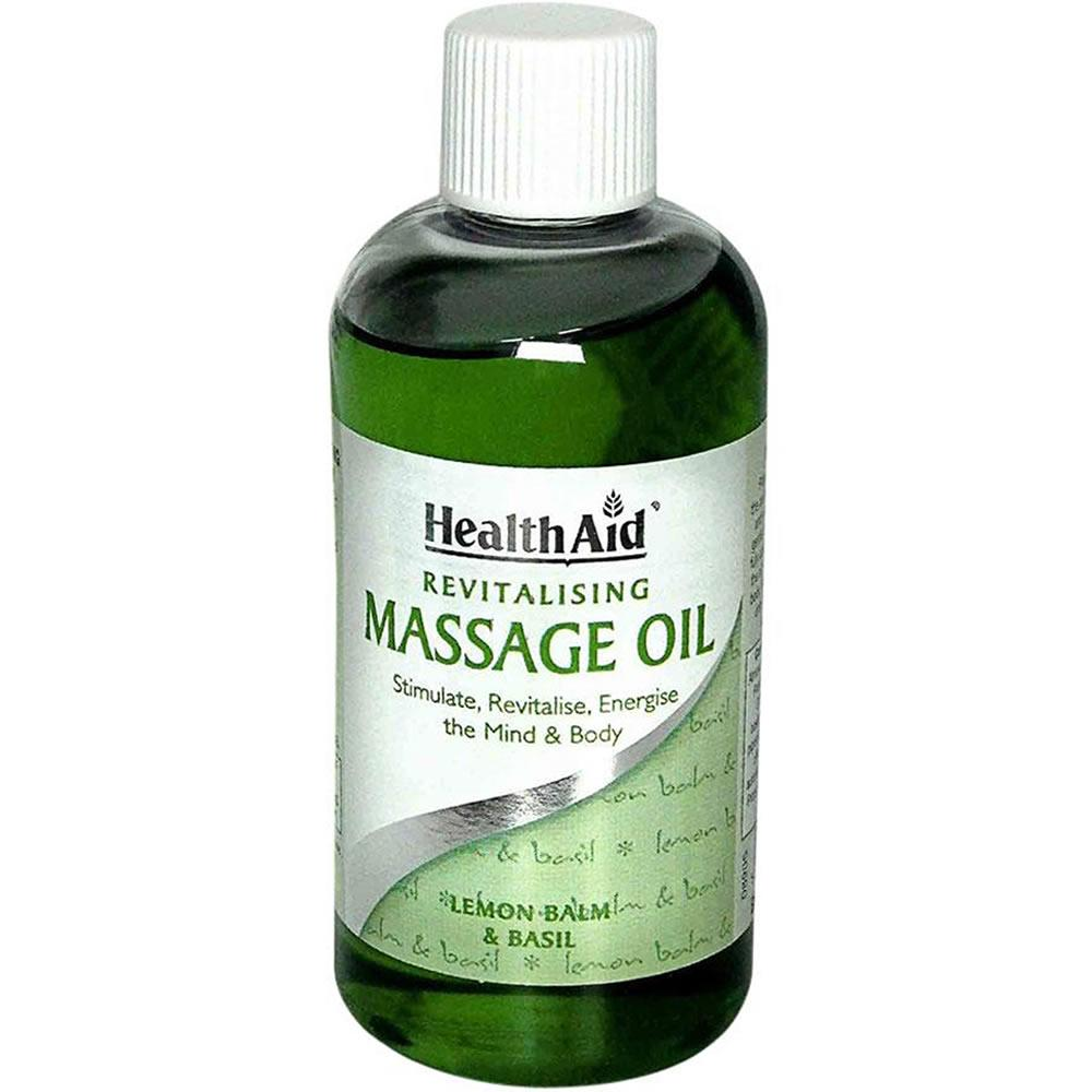 HealthAid Revitalising Massage Oil 150ml