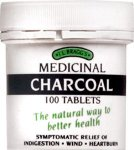 Bragg's Charcoal Tablets Pack of 100