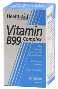 HealthAid Vitamin B99 Complex Tablets Pack of 60