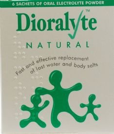 Dioralyte Supplement Sachets Natural Pack Of 6