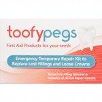 Toofypegs Emergency Temporary Repair Kit for Fillings & Crowns