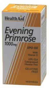 HealthAid Evening Primrose Oil 1000mg Capsules Pack of 30