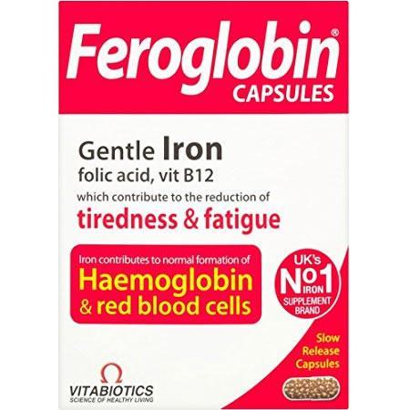 Feroglobin Capsules Pack of 30