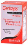 HealthAid Gericaps Multivitamin & Mineral Capsules Pack of 60