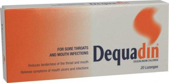 Dequadin Lozenges Pack of 20