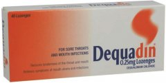 Dequadin Lozenges Pack of 40