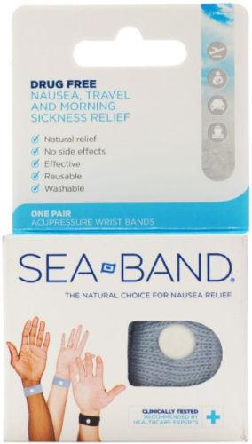 Sea-band Wrist Band Grey
