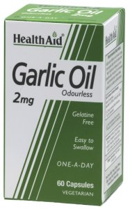 HealthAid Odourless Garlic Oil 2mg Capsules Pack of 60