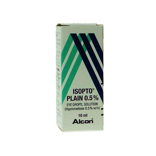 Isopto Plain Eye Drops Solution 0.5% 10ml