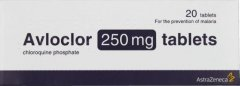 Avloclor 250mg Tablets Pack of 20