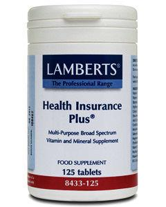 Lamberts Health Insurance Plus Tablets Pack of 125