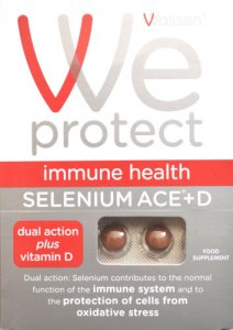 We Protect Immune Health Selenium ACE&D Tablets Pack of 90