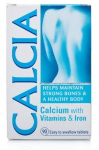 Calcia Tablets 30 Days Supply Pack of 90