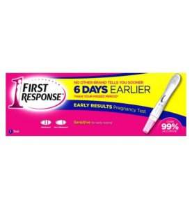 First Response Pregnancy Testing Kit One Step Single Pack