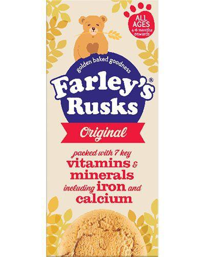 Heinz Farleys Rusks Original Pack of 9