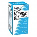 HealthAid Vitamin B12 1000mcg Tablets Pack of 50