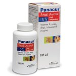 Panacur 10% Suspension Wormer For Cats & Dogs 100ml