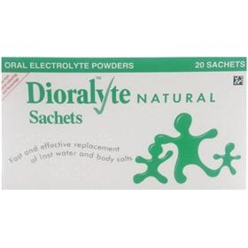 Dioralyte Supplement Sachets Natural Pack of 20
