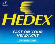 Hedex Tablets Pack of 16