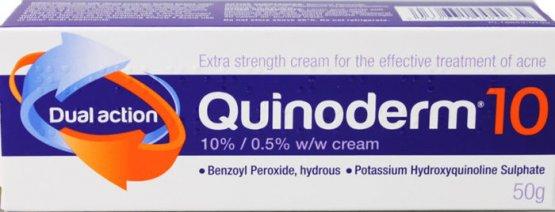 Quinoderm Cream 10% 50g