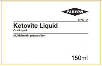 Ketovite Liquid 150ml