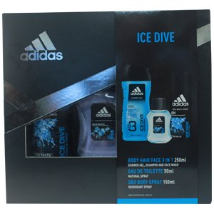 Adidas Ice Dive Gift Set Trio