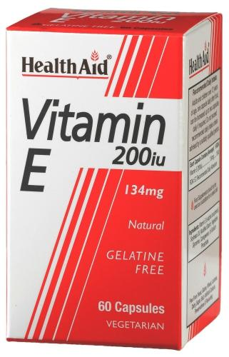 HealthAid Vitamin E 200iu Capsules Pack of 60