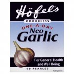 Seven Seas Höfels Odourless Neo Garlic Pearles Pack of 90