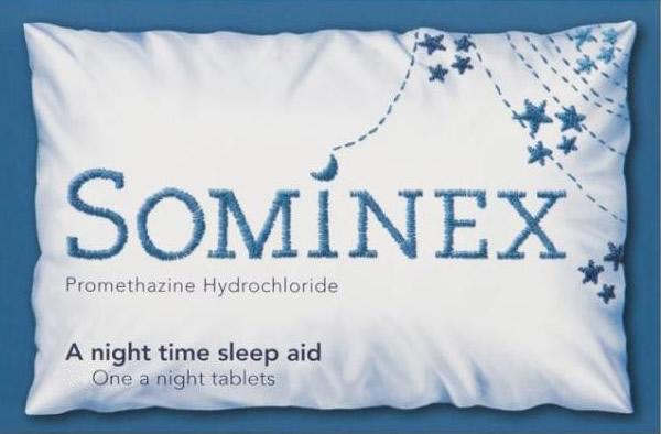 Sominex Tablets Pack of 8