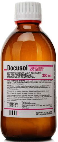 Docusol Solution Paediatric 300ml