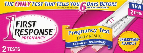 First Response Pregnancy Testing Kit One Step Pack of 2