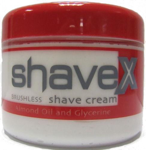 Shavex Shaving Cream Brushless Jar 120ml