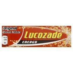 Lucozade Energy Gluose Tablets Original Pack of 14