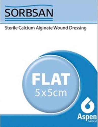 Sorbsan Sterile Calcium Alginate Wound Dressing 5cm x 5cm