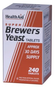 HealthAid Brewers Yeast Tablets Pack of 240