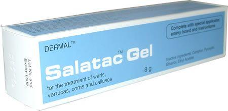 Salatac Wart Gel 8g