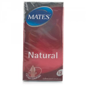 Mates Natural Condoms Pack of 12