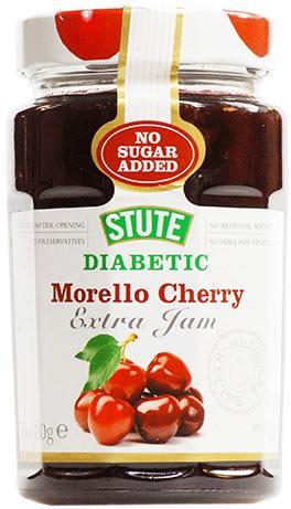Stute Diabetic Preserve Morello Cherry 430g