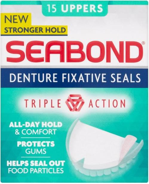 Seabond Original Upper Denture Fixatives Pack of 15